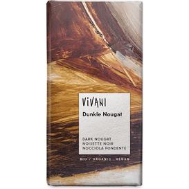 Vivani Gorzka czekolada nugatowa, 100 g