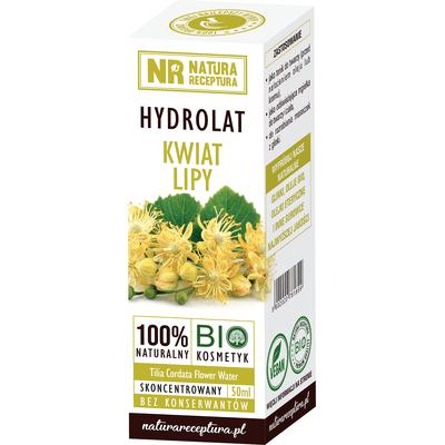 Hydrolat z kwiatów lipy Natura Receptura