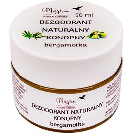 Majru Dezodorant naturalny konopny - Bergamotka, 50 ml