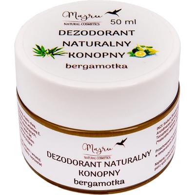 Dezodorant naturalny konopny - Bergamotka Majru