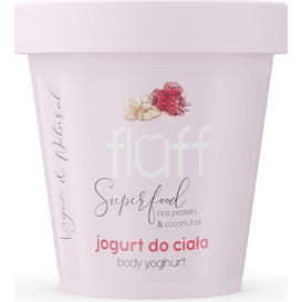 Fluff Jogurt do ciała - Maliny z migdałami, 180 ml