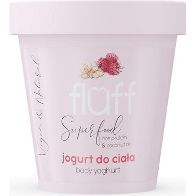 Jogurt do ciała - Maliny z migdałami Fluff