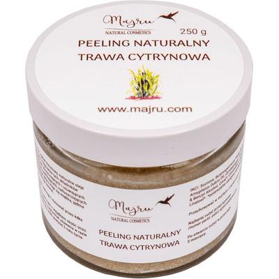 Peeling do ciała trawa cytrynowa Majru