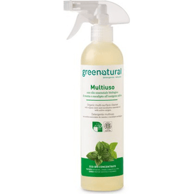 Greenatural Multiuso wielofunkcyjny detergent - Mięta & Eukaliptus, 500 ml