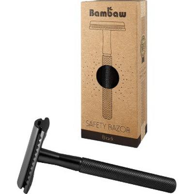 Wielorazowa maszynka do golenia - Czarna Bambaw
