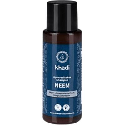 Przeciwłupieżowy szampon do włosów - Neem i rozmaryn - mini Khadi