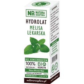 Natura Receptura Hydrolat z melisy lekarskiej, 50 ml