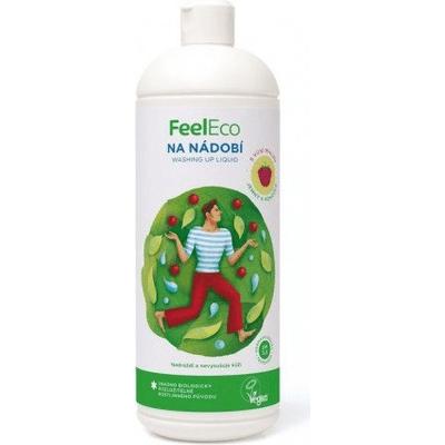 Płyn do mycia naczyń, owoców i warzyw - zapach malinowy Feel Eco
