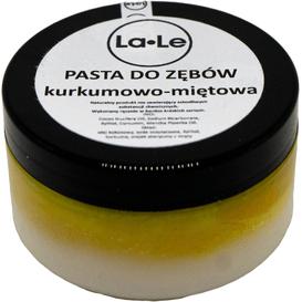 La-Le Kosmetyki Pasta do zębów z kurkumą