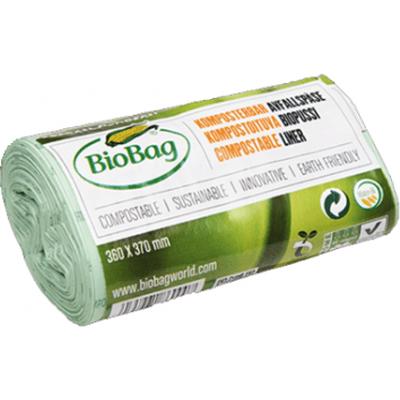 Biodegradowalne worki na odpady organiczne i zmieszane 6L BioBag
