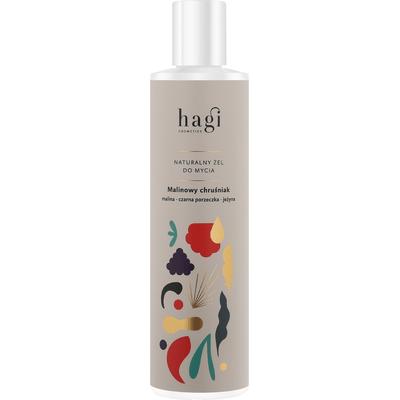 Naturalny żel do mycia ciała - Malinowy chruśniak Hagi
