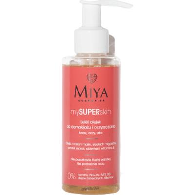 Lekki olejek do demakijażu i oczyszczania twarzy Miya