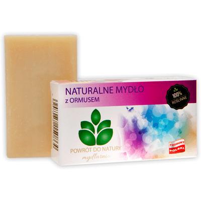 Naturalne mydło z ormusem Produkty less waste