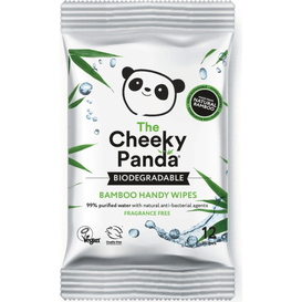 Cheeky Panda Nawilżane chusteczki bambusowe, 12 szt.