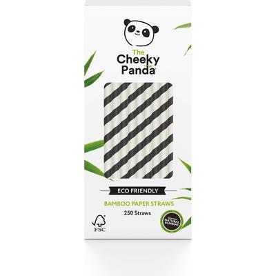 Jednorazowe słomki bambusowe - Czarne Bambaw