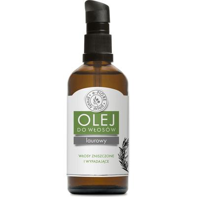 Laurowy olejek do włosów i skóry głowy E-FIORE