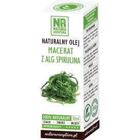 Natura Receptura Naturalny macerat ze spiruliny, 50 ml