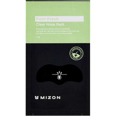 Let Me Out Blackhead Peel-off Mask - Plasterek na zaskórniki Mizon