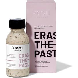 Veoli Botanica Wygładzający peeling z pestkami owoców do twarzy - Erase the past, 90 ml
