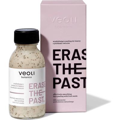 Wygładzający peeling z pestkami owoców do twarzy - Erase the past Veoli Botanica