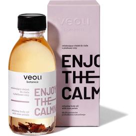 Veoli Botanica Relaksujący olejek do ciała z płatkami róży - Enjoy the calmness, 150 ml