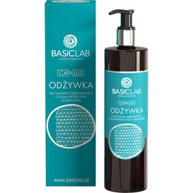 BasicLab Odżywka do włosów farbowanych, 300 ml