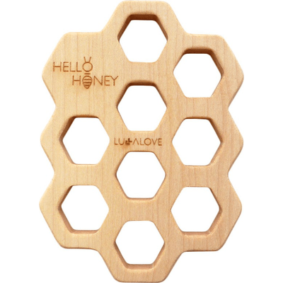 Mydelniczka - podstawka z drewna Lullalove
