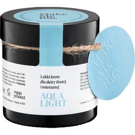 Make Me Bio Aqua Light - Lekki krem dla skóry tłustej i mieszanej, 60 ml