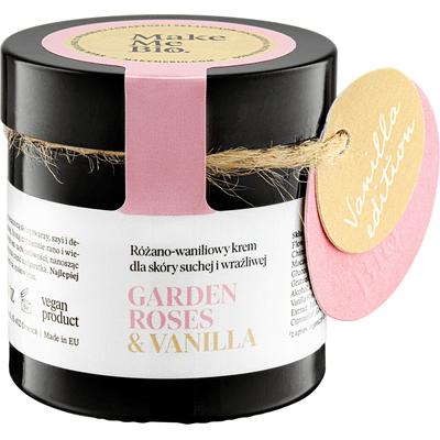 Garden Roses & Vanilla - Różano-waniliowy krem dla skóry suchej i wrażliwej Make Me Bio