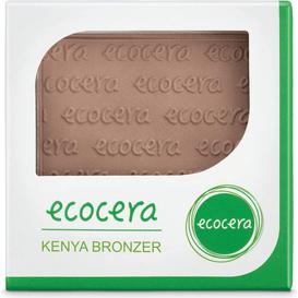 Ecocera Matowy puder brązujący prasowany - Kenya, 10 g