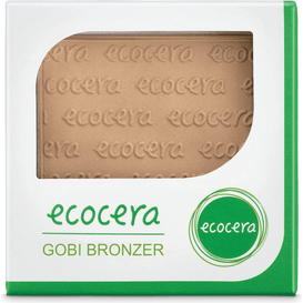 Ecocera Matowy puder brązujący prasowany - Gobi , 10 g