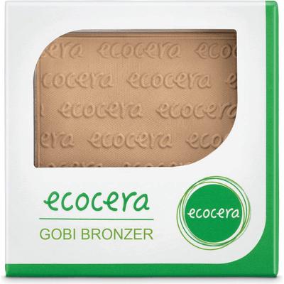 Matowy puder brązujący prasowany - Gobi  Ecocera