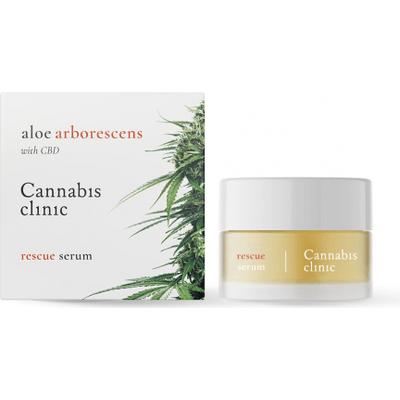 Serum do twarzy - Rescue Facial Serum - Cannabis clinic Organic Life