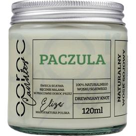 Ooroc Świeca sojowa mała w słoiku - Paczula, 120 ml
