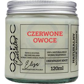 Ooroc Świeca sojowa mała w słoiku - Rabarbar, 120 ml
