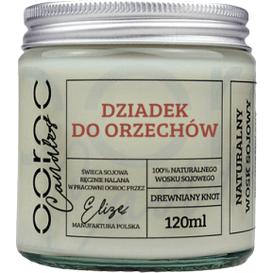 Ooroc Świeca sojowa mała w słoiku - Dziadek do orzechów, 120 ml