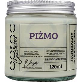 Ooroc Świeca sojowa mała w słoiku - Piżmo, 120 ml