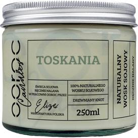 Ooroc Świeca sojowa w słoiku - Toskania, 250 ml
