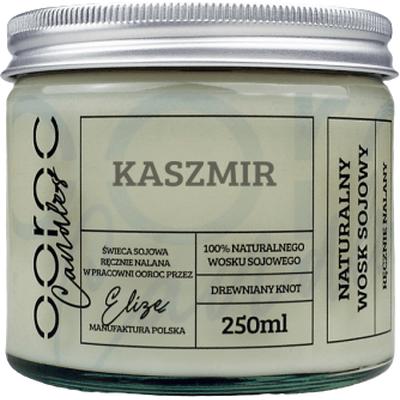 Świeca sojowa w słoiku - Kaszmir Ooroc