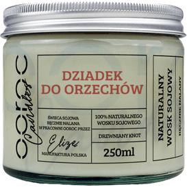 Ooroc Świeca sojowa w słoiku - Dziadek do orzechów, 250 ml