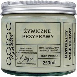 Ooroc Świeca sojowa w słoiku - Żywiczne przyprawy, 250 ml