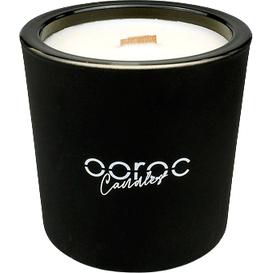 Ooroc Czarna świeca sojowa - Soczyste mango, 400 ml