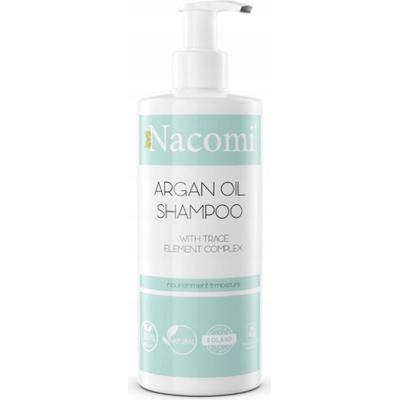 Szampon do włosów z olejem arganowym Nacomi