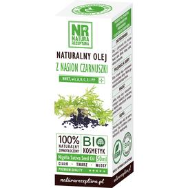 Natura Receptura Naturalny olej z nasion czarnuszki, 50 ml