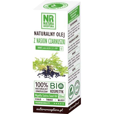 Naturalny olej z nasion czarnuszki Natura Receptura