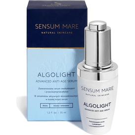 Sensum Mare Serum Algolight - Zaawansowane serum rewitalizujące dla cery tłustej, 35 ml