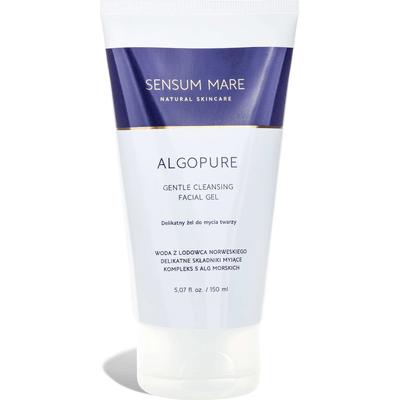 Algopure - Żel do mycia twarzy z kompleksem alg morskich i wodą z lodowca Sensum Mare