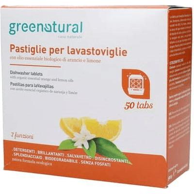 [OUTLET] Tabletki do zmywarki - Pomarańcza & cytryna - duże opakowanie Greenatural