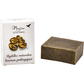 Majru Mydło naturalne kawowe peelingujące, 100 g