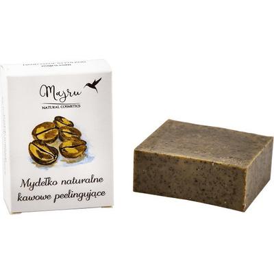 Mydło naturalne kawowe peelingujące Majru